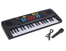 Baby Toys 37 Keys Music Electronic Keyboard Kid Electric Piano Organ With Mic  For Children Gifts