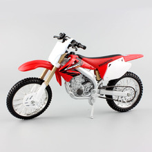 Maisto 1:12 scale Honda CRF 450R motorbike race cars diecast dirt Motocross metal models motorcycles for children toy new in box(China)