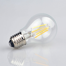 1x 110V 220V Full Watt 2W 4W 6W 8W Edison Filament LED Ball Bulb Glass LED lamp Home Bar Decor Night light Replace Incandesc