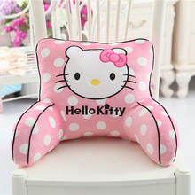 Super Cute Waist Back Cushion With Arms Sofa Back Support Cushion Car Seat Office Chair Throw Pillow Household Pillows Girl Gift