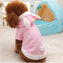 Winter og Clothes for Dogs Fleece Clothing For Small Dog Christmas Costume Rabbit Hoodie Dog Coat Jackets for Pet Chihuahua 30