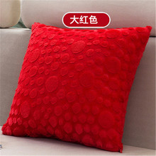 Winter Warm Super Soft Short Plush Square Sofa Cushion Cover Throw Pillow Case Decorbox (without pillow Core) Home Supplies(China)
