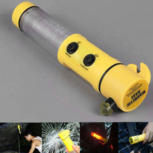Car Safety Hammer Auto Knife Hammers Lifesaving Tools Styling Glass Break Beacon(China)