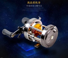 Albacore Bait casting reel cast drum wheel for catch big fish in lure fishing 7 kinds of  sizes abailable