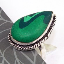 Malachite Ring: 8.75 ,  R0299