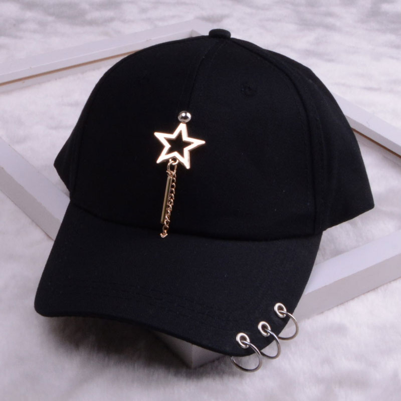 baseball cap with ring dad hats for women men baseball cap women white black baseball cap men dad hat (27)