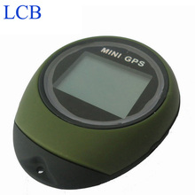 3pcs/lot Handheld Keychain Smallest GPS data logger compass USB Rechargeable For Outdoor Sport(China)
