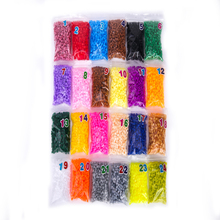 5mm hama beads perler fuse beads kids DIY handmaking Creative Educational Toys 24 colors(China)