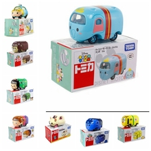 Dumbo Anna  Tomica Tomy Tsum Tsum Cartoon Diecast Metal Cars model toy Motors Gifts