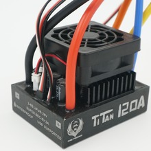 TiTan 120A metal shell Waterproof  Brushless Speed Controller ESC for For RC  1/8 Traxxas E-REVO Traxxas Summit HPI Savage