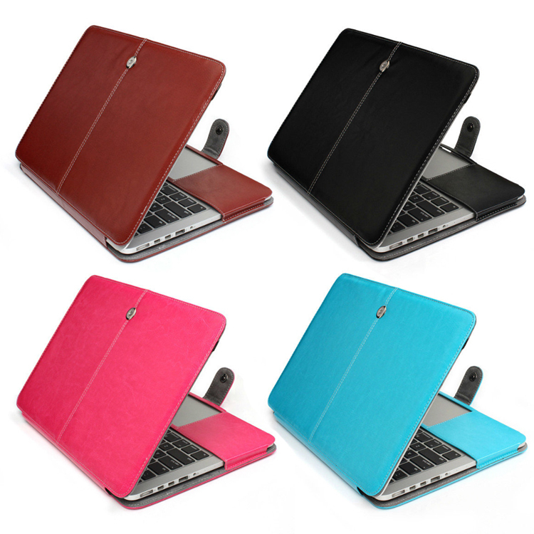 Drop Free Shipping Fashion Color blue PU Leather Sleeve Case For Macbook Pro Retina display Shell Cover Bag For Laptop MBPR Bag<br><br>Aliexpress