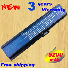 6-Cell 5200mAh Laptop Battery for Acer Aspire 3030 3200 3050 3680 5500 5050 5580 5570 3610 3680 Travelmate 2400 2480 3210 3220