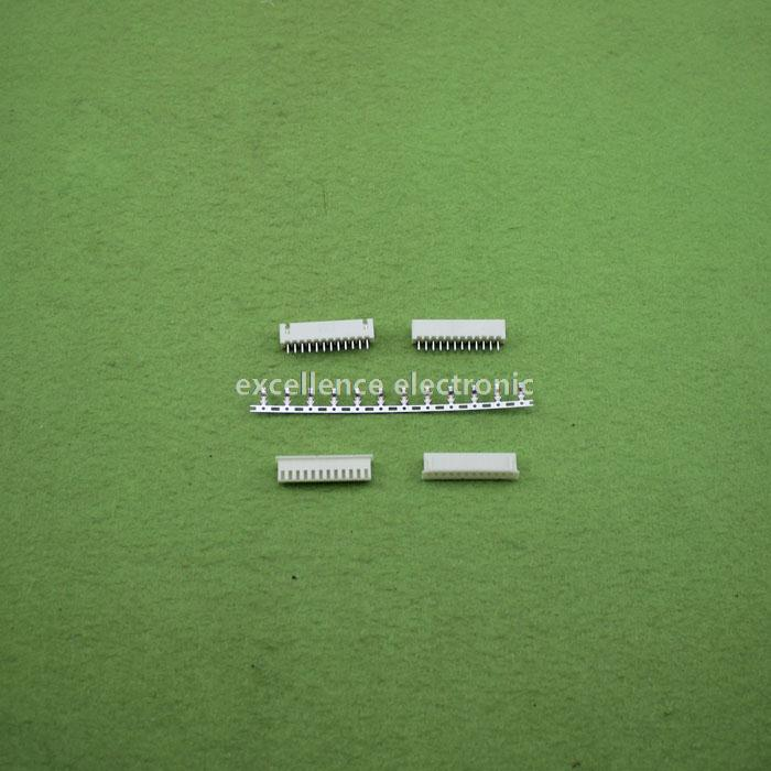 100sets/Lot 12 Pin Connector Leads Header 2.54mm XH-12P Kit Housing Pin header Terminal<br><br>Aliexpress