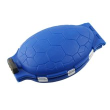 Practical Boutique Blue Plastic Tortoises 12 Drawer Fish Coil Hook Storage Box(China)