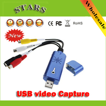 USB 2.0 Video Capture With Audio DC60 STK1160 TV DVD VHS to USB Converter Capture Grabber Adapter for Window(China)