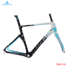 High end Carbon Road Frameset 2017 SOBATO Carbon Road Bike Frames UD carbon bicycle framework aero design(China)