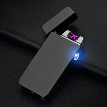 Buy 2017 Double fire cross twin arc pulse Electronic Cigarette lighter electric arc Lighter colorful charge usb lighters sexy man for $11.54 in AliExpress store