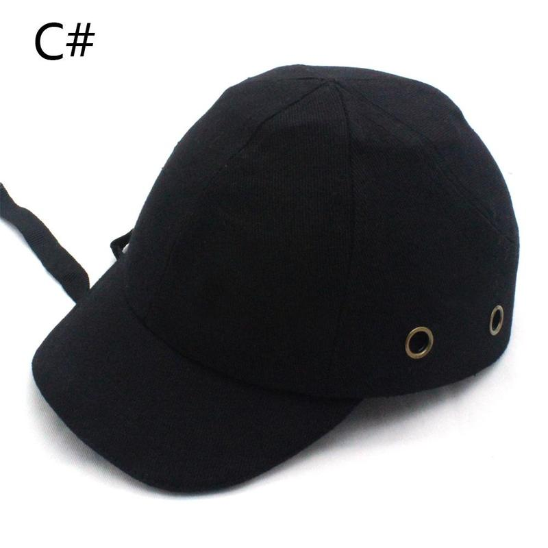 Abs Arbeit Sicherheit Tuch Hut Baseball Bump Caps Leichte Sicherheits Hut Kopf Schutz Caps Arbeitsplatz Baustelle Hut Arbeitsplatz Sicherheit Liefert