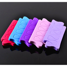 1pc Mixed Color Soft Sponge Foam Finger Toe Separator Nail Art Pedicure Manicure Nail Art Tools Feet Care