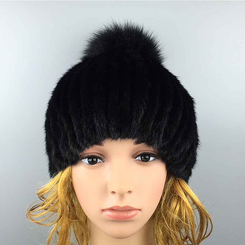 2017 Winter Beanies Fur Hat for Women Mink Fur Solid Fashion Free Size Casual Hot Sale Fashion Womens Fur HatОдежда и ак�е��уары<br><br><br>Aliexpress