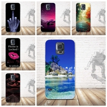 "Soft TPU Case for Samsung Galaxy S5 S 5 SV I9600 5.1"" Mobile Phone Rubber Silicone Bags Back Cover for Samsung Galaxy S5 I9600(China)"