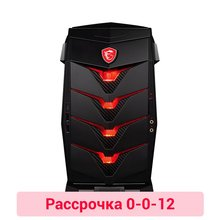 Игровой компьютер MSI Aegis 3 8RC-023RU/i7 8700/8 ГБ/2000 + 256 SSDGb/GTX1060 6 ГБ /DVDrw/BT/WiFi/black/Win10 (9S6-B91811-023)(Russian Federation)