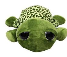 20cm Green Big Eyes Turtle Plush Toys Super Kawaii Tortoise Turtle Soft Stuffed Toys Baby Kids Gift Hot Sale
