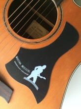 "Free Shipping  Acoustic Guitar Pickguard Guitar Pick Guard Fits 40"" 41"" Size"