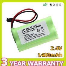 Apexway NI-MH Rechargeable Cordless Phone Battery 1400mAh 2.4V  BT-1007 BT-1015 for Uniden DCX150 DECT1500  Unbranded/Generic