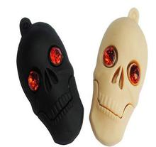 Usb Stick USB flash drive skull flashlight LED  USB Flash 2.0 Memory Drive Stick  4GB-64GB  S59 Halloween