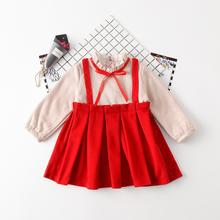 2018 Baby Girl Clothes Princess Dress Plus velvet thickening Girl Bow Ball Gown Tutu Party Dress Toddler Kids Fancy Dress 2-6Y(China)