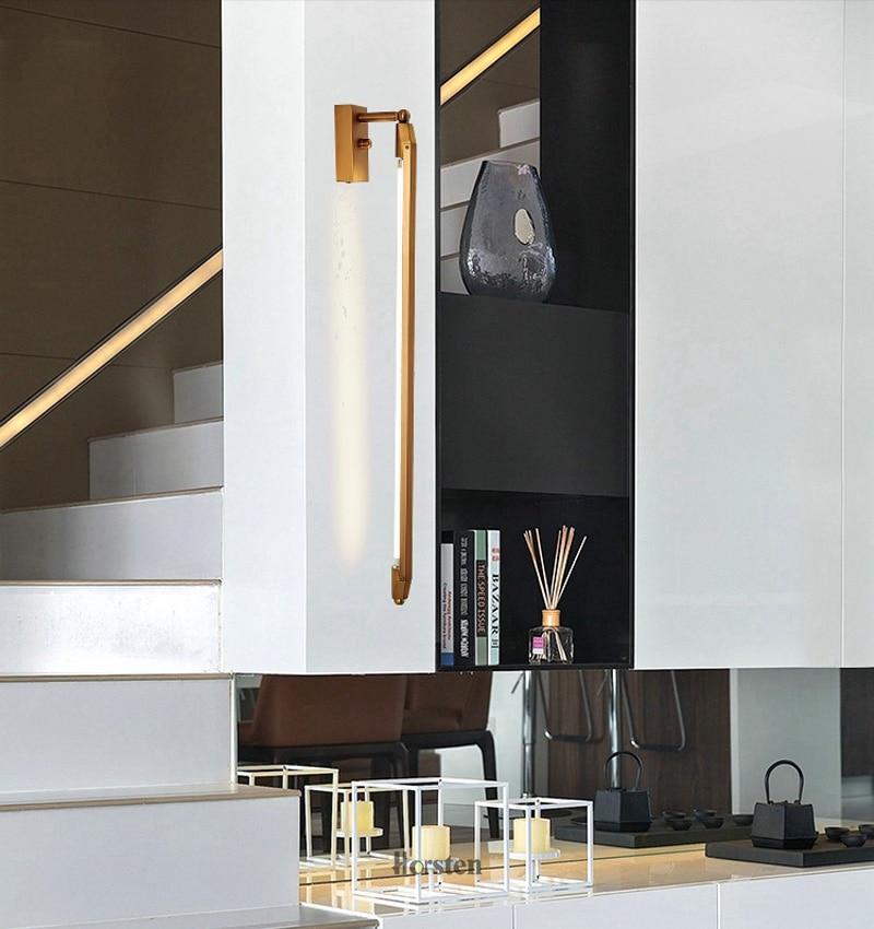 Nordic Minimalist T5 LED Wall Lamp 68cm Long Living Room Bar Bedroom Bedside Wall Lights Retro Home Decoration Lighting Fixtures 220V (8)