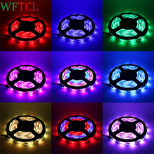 WFTCL WS 2811 5050 LED Strip 5m/roll DC12V Waterproof Flexible LED Ribbon Light 30leds/m Dream magic Color Home Indoor Lighting(China)