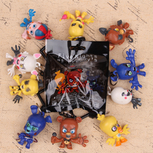10pcs/set  FNAF Freddy Fazbear Foxy Figure Hangers Five Nights at Freddy's Keychain Characters Collector