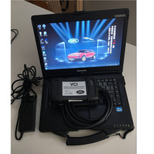 2017 For Land Rover and Jaguar OBD2 scanner VCI with the latest software HDD plus laptop Cf53 Diagnostic tool DHL Free Shipping
