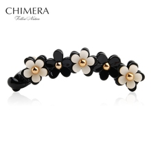 Chimera Hot Sale Vintage Flower Banana Hair barrette Clip Hairpin Hair Accessories for Women Hair Jewelery 3140066(China)
