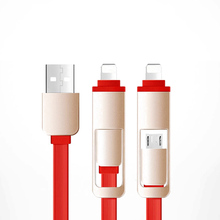 Go2linK 2 in 1 Sync USB Charger Cable LCD Digital Current Voltage Protector for iPhone Android Phone phone charger