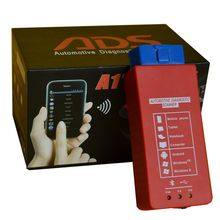 ADS A1 Bluetooth OBDII Scanner work for Android system ADS A1 Scanner test engine, gearbox, airbag, air condition, ABS and IMMO