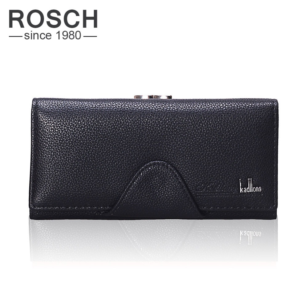 2017 New Designer Women Long Clutch Wallets Famous Brand Ladies Large Capacity Hasp Phone Wallet Purse With Card Coin Holder<br><br>Aliexpress