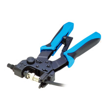 TL-H510B 0.5-6MM2 PROFESSIONAL COMPRESSION CRIMPING TOOLS For Crimping F,BNC,RCA,RG 59, RG6 F type cable pliers(China)