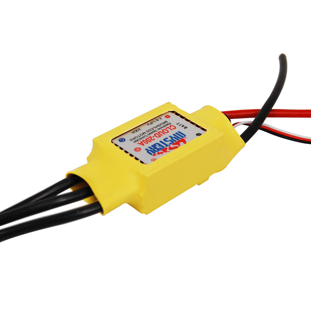 Hot New Mystery RC 200A 2-6s Brushless ESC for Boat V2.1 Model Ship Speed Controller Parts Accs <br><br>Aliexpress
