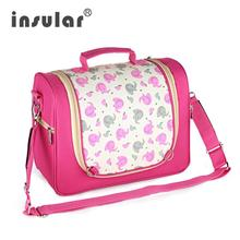 INSULAR Fashion Baby Diaper Stroller Bag Messenger Mommy Bag Maternity Nappy Changing Bags(China)