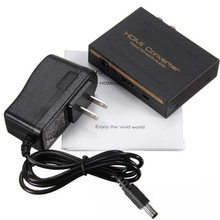 New Arrival HDMI Converter to HDMI & Optical SPDIF +DC 5V Power Adaptor + RCA L/R 1080P Audio Extractor Splitter