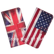 Funads For HTC Desire 601 Case UK USA Flag Wallet Leather Cover For HTC Desire 601 Protective Shell Phone Accessory Mobile Case