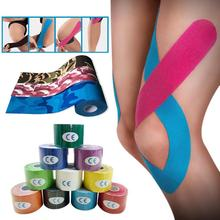 5m x Kinesiology Sports Exercise Muscles Care Tape Elastic Physio Therapeutic Silicone Tape