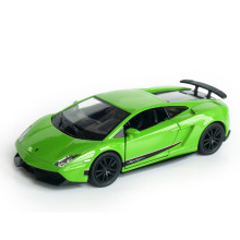 RMZ City 1:36 Alloy Pull Back Gallardo Sports Car Model Simulation Of Children's Toy Car Original Authorized Authentic Kids Toys(China)