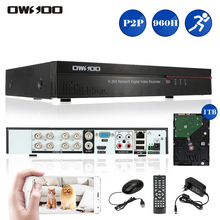 OWSOO 8CH Full 960H/D1 HDMI P2P Cloud Network DVR Digital Video Recorder + 1TB Seagate Hard Drive For CCTV Surveillance System(China)