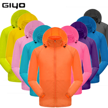GIYO MTB Cycling Jerseys MultiFunction Jacket Rain Waterproof Windproof TPU Raincoat Bike Bicycle Equipment Clothes 13 Colors