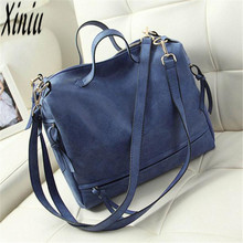 Casual Hot Sale Attractive Elegant Women Messenger Vintage Nubuck Leather Motorcycle Retro Shoulder Bags big discount Bolsas