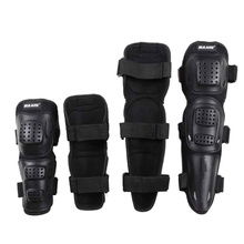 4Pcs Adult Unisex Elbow Knee Pads Off-road Riding Pulley Bicycle Racing Pads Protector Support Brace Wrap Pad(China)